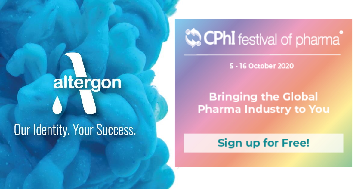 Altergon Italia exhibitor at CPhI Festival of Pharma